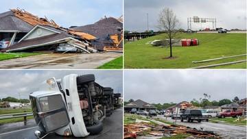 """Seria tornad w USA. """"Katastrofalne"""" szkody"""