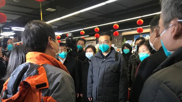 Koronawirus z Wuhan. Premier Chin poprosił Unię Europejską o pomoc