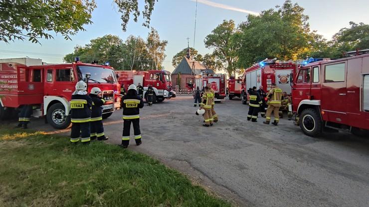 Przyjechali gasić - pożar był 130 km dalej. Winna litera w adresie