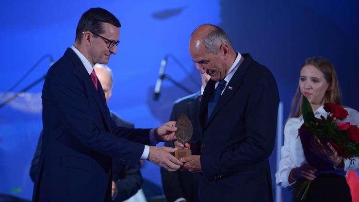 Premier Słowenii z nagrodą Człowieka Roku Forum Ekonomicznego w Karpaczu