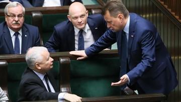 """Kaczyński stanął w obronie Błaszczaka. """"To jeden z najlepszych ministrów rządu"""""""
