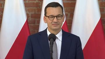 Premier o spotkaniu z Gersdorf: jeśli umawiam się, że nie przekazuję informacji, to dotrzymuję słowa