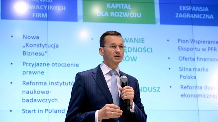 Morawiecki: nie ma planu nacjonalizacji OFE