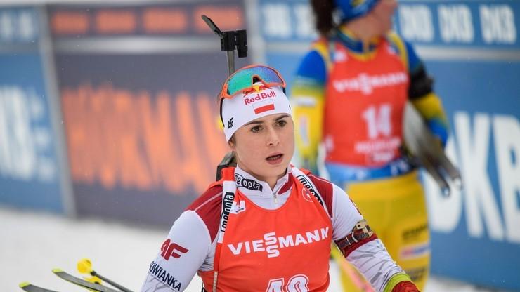 Trener polskich biathlonistek: Sztafeta była kulminacyjnym punktem