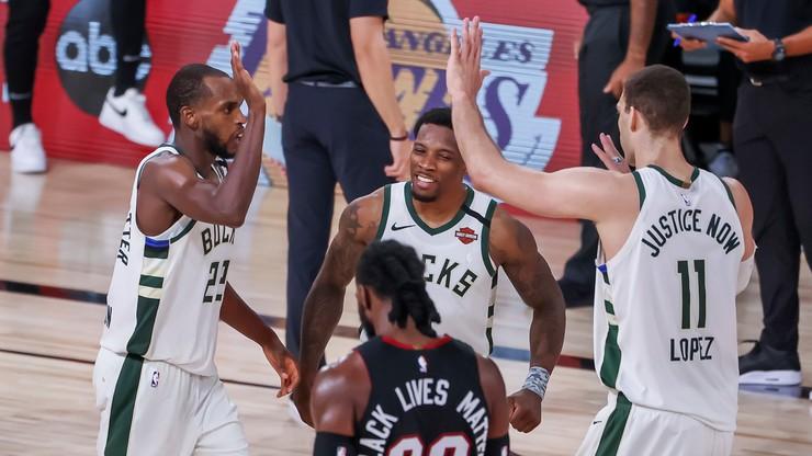 NBA: Kontuzja Giannisa Antetokoumpo. Milwaukee Bucks i Los Angeles Lakers ze zwycięstwami