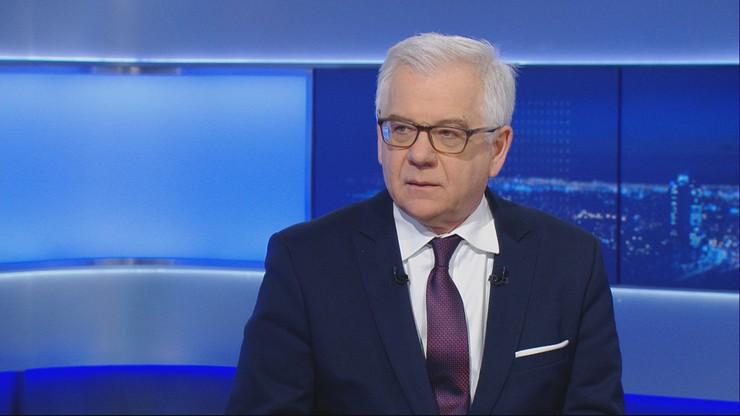 Szef MSZ: Polska wyśle do Jerozolimy swojego przedstawiciela