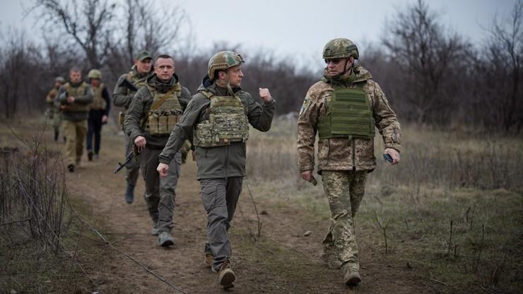 Prezydent Ukrainy: do rosyjskiej interwencji może dojść każdego dnia, jesteśmy gotowi