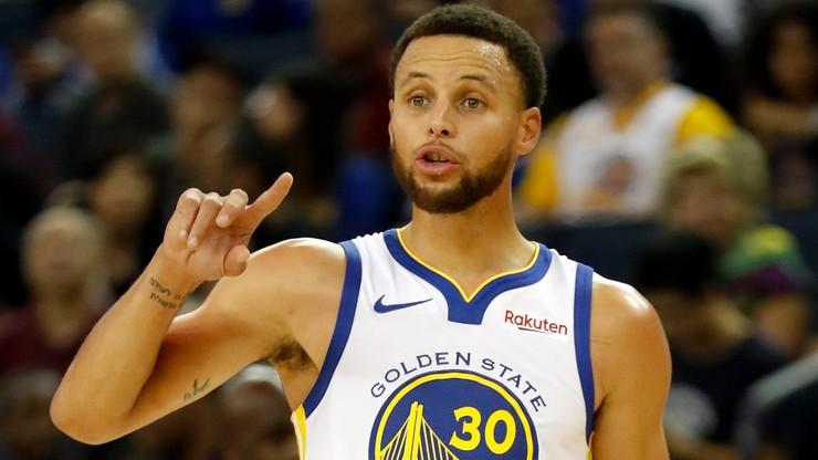 NBA: Niesamowity występ Curry'ego! Warriors lepsi od Wizards