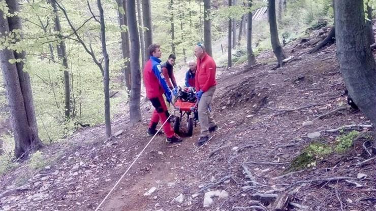 Zwłoki mężczyzny w Beskidzie Śląskim. Znaleźli je turyści