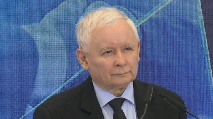 """Kaczyński o sporze z UE. """"Żadnym szantażom nie ulegniemy"""""""