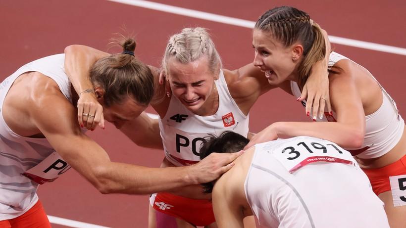 Tokio 2020: Justyna Święty-Ersetic skomentowała zdobycie złotego medalu w sztafecie