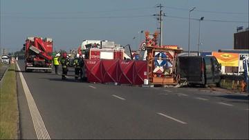 Wypadki na trasach A2 i S11 w okolicach Poznania. Są ofiary śmiertelne