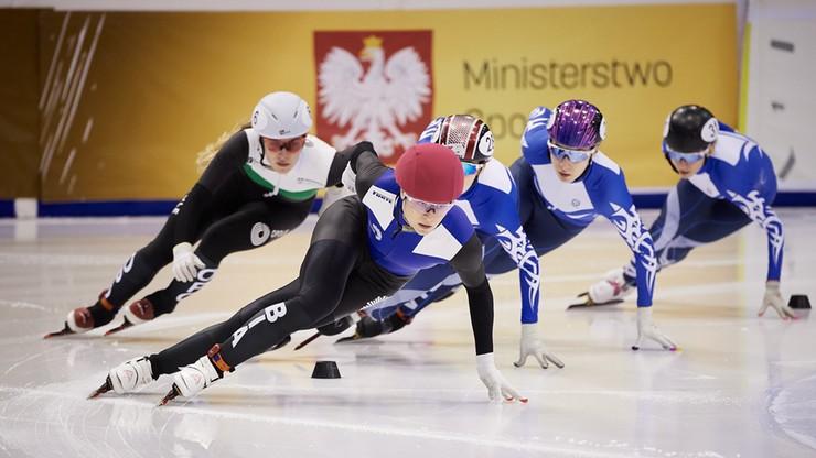 Natalia Maliszewska i Rafał Anikiej zdominowali mistrzostwa Polski w short tracku