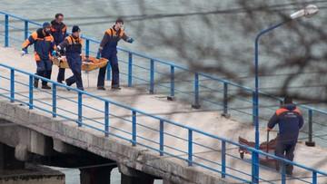 Naoczny świadek katastrofy Tu-154: samolot szybko opadał ku wodzie