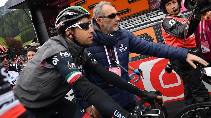 Giro d'Italia: Aru ukarany za jazdę za wozem technicznym