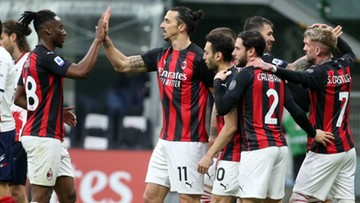 Serie A: AC Milan znów liderem. 500. gol Zlatana Ibrahimovica