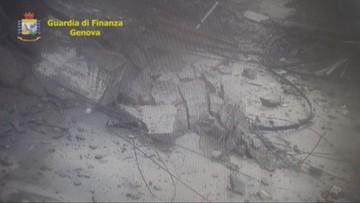 Nowe nagranie z katastrofy w Genui. Widać na nim moment zawalenia się wiaduktu