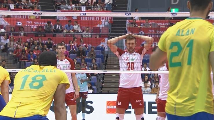 Canarinhos wciąż niepokonani. Polscy siatkarze przegrali 2:3 z Brazylią