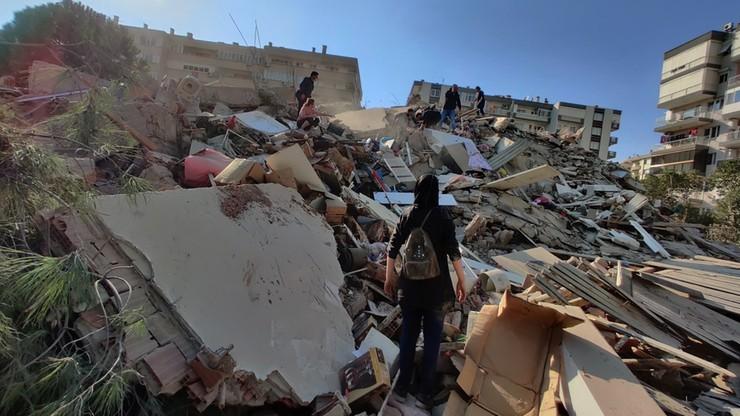 Silne trzęsienie ziemi na Morzu Egejskim. Ofiary w Turcji