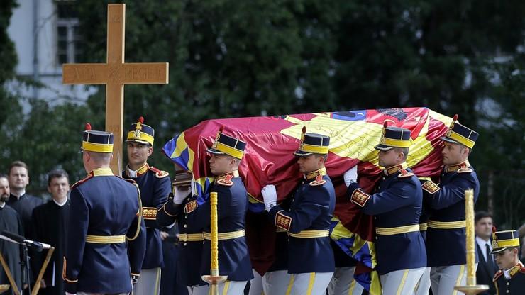 Rumunia: pogrzeb żony króla Michała