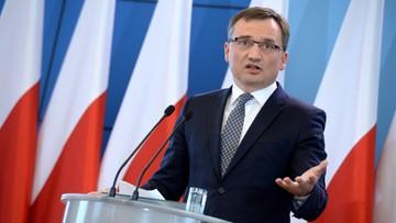 """Ziobro: cieszę się, że w kampanii """"Sprawiedliwe sądy"""" wykorzystywane są informacje opracowane przez ministerstwo sprawiedliwości"""