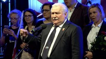 Lech Wałęsa: nie może być tak, że jak kogoś wybieramy, to on ma  prawo do wszystkiego