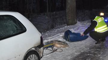 Zmarła 15-latka, która podczas kuligu uderzyła w drzewo