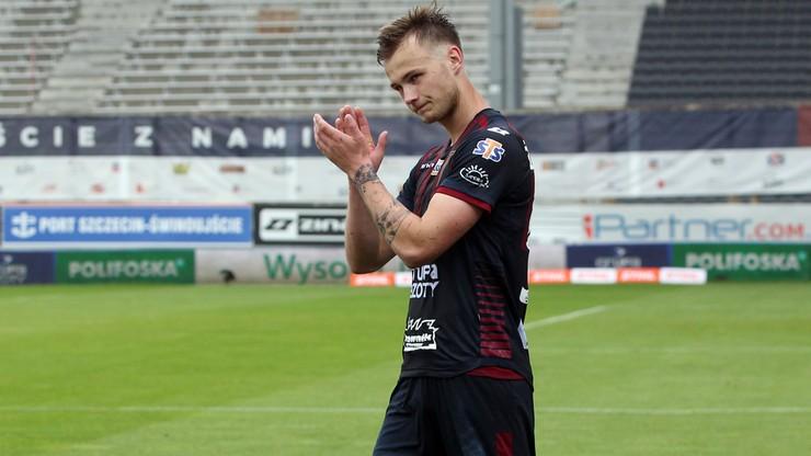 Maciej Żurawski przedłużył kontrakt z Pogonią Szczecin i od razu udał się na wypożyczenie