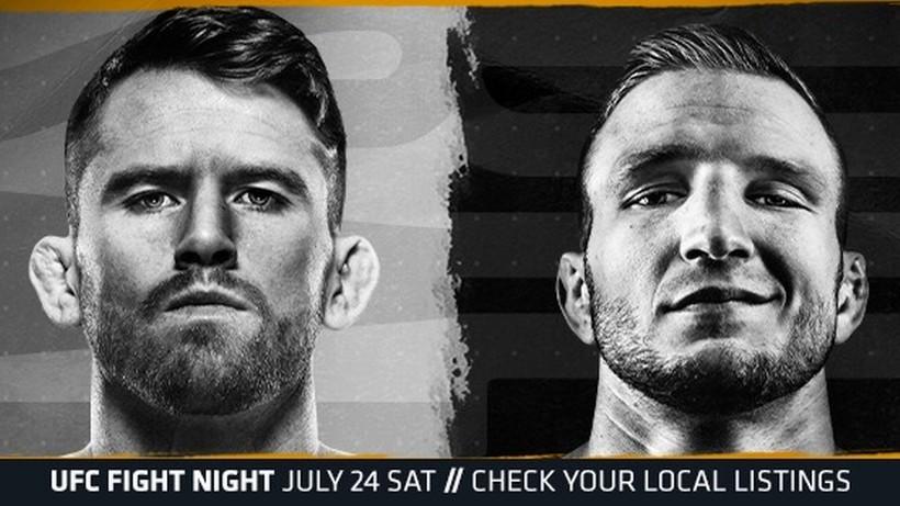 UFC Vegas 32: Cory Sandhagen - T.J. Dillashaw. Transmisja TV i stream online