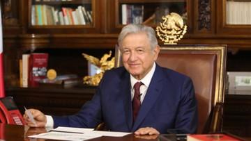 Prezydent Meksyku zakażony. Kilka godzin wcześniej leciał rejsowym samolotem