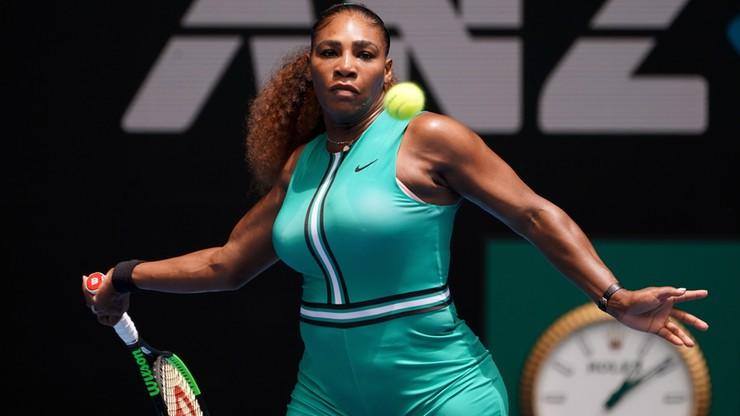 """Australian Open: Williams bezlitosna dla Marii w """"meczu mam"""""""