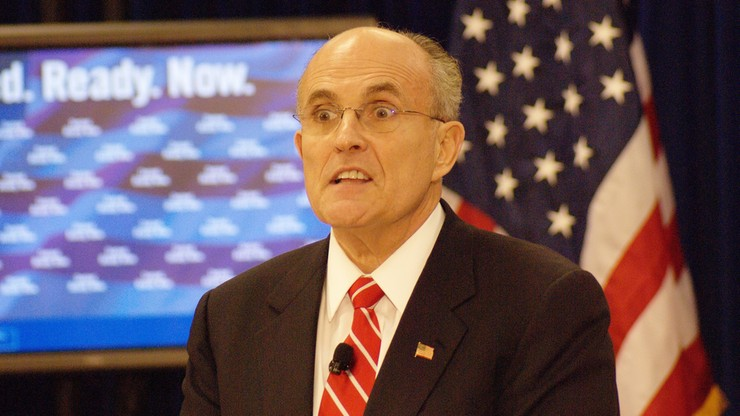 Prawnik Trumpa Rudy Giuliani z zakazem praktykowania prawa w kolejnym stanie