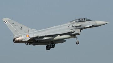 Hiszpański myśliwiec wystrzelił pocisk nad Estonią. Przez pomyłkę