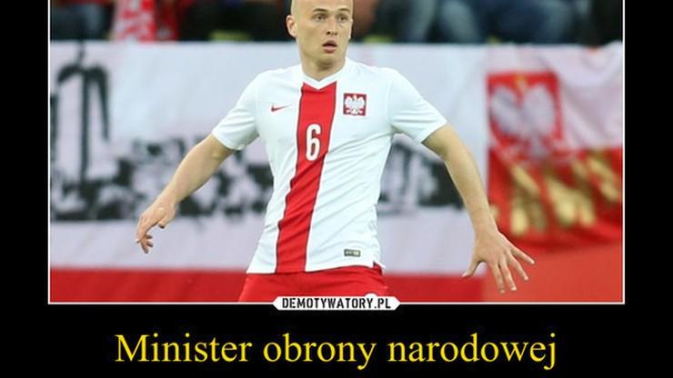 Pazdan - nowy minister obrony narodowej. Najlepsze memy po meczu Polska - Niemcy