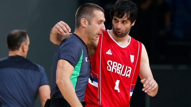 MŚ koszykarzy: Występ Teodosica niepewny z powodu kontuzji