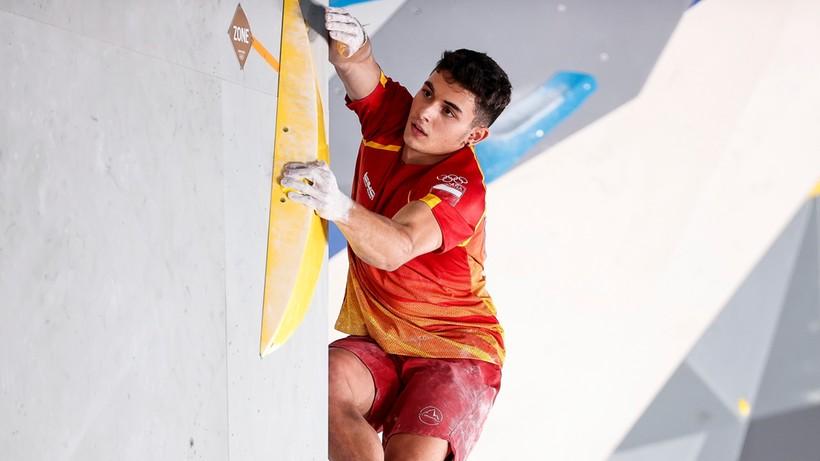 Tokio 2020: Alberto Gines Lopez mistrzem olimpijskim we wspinaczce sportowej