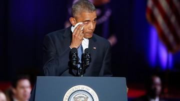 """""""Ameryka jest obecnie lepsza i silniejsza"""". Pożegnalne przemówienie Obamy"""