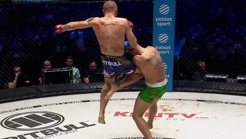 KSW 64: Robert Ruchała pokonał Patryka Kaczmarczyka w walce niepokonanych talentów (WIDEO)