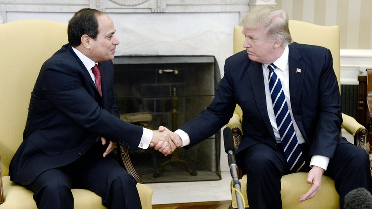 Przełomowa wizyta prezydenta Egiptu w USA. Pierwsza od 10 lat