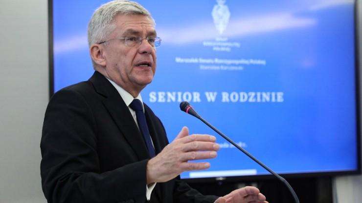 """""""Niedopuszczalna próba wywarcia nacisku politycznego"""". Karczewski o wniosku Lubnauer"""