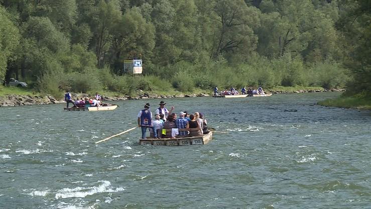 Wypadek na spływie przełomem Dunajca. Nie żyje flisak
