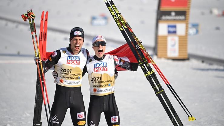 Narciarskie MŚ. Zwycięstwo Austriaków w sprincie drużynowym kombinacji norweskiej