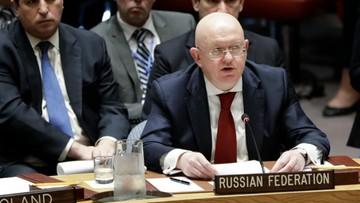 Rada Bezpieczeństw ONZ odrzuciła rosyjską rezolucję potępiającą atak Zachodu w Syrii