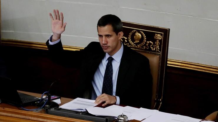 Wenezuela: Juan Guaido z zakazem opuszczania kraju i zamrożonymi rachunkami