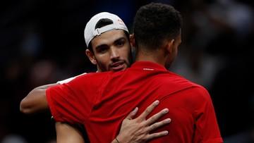 Tenisowy Laver Cup: Europa prowadzi z Resztą Świata po pierwszym dniu