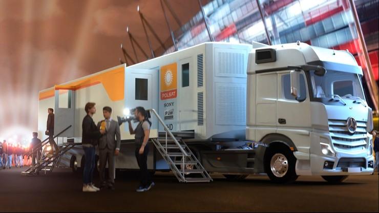 Od tego roku najnowocześniejszy na świecie wóz transmisyjny Sony w Polsacie