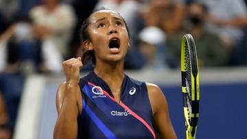 US Open: Leylah Fernandez sprawczynią kolejnej niespodzianki