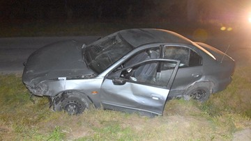 Pijany kierowca uciekł po stłuczce. Wytropił go policyjny pies