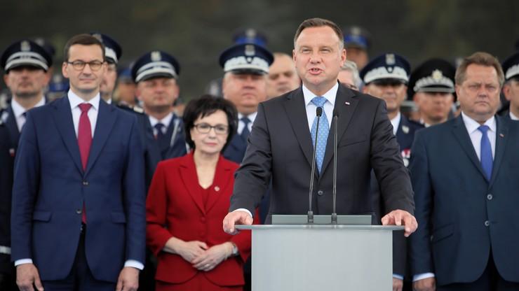 """""""Policjant musi być godnie wyposażony i godnie wynagradzany"""". Państwowe obchody Święta Policji"""