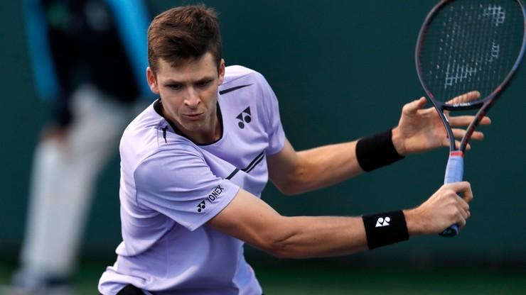 ATP w Indian Wells: Hurkacz - Federer. Transmisja na Polsatsport.pl